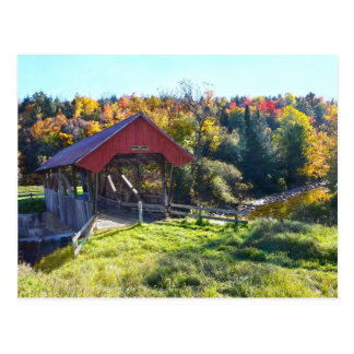 Randall Covered Bridge, Lyndon, Vermont Postcard