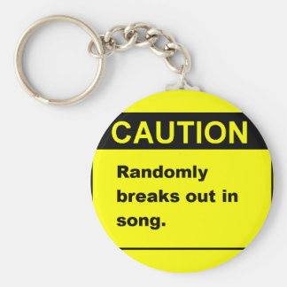Randmon Song Key Ring
