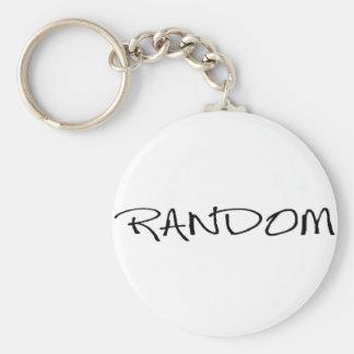 random2 basic round button key ring
