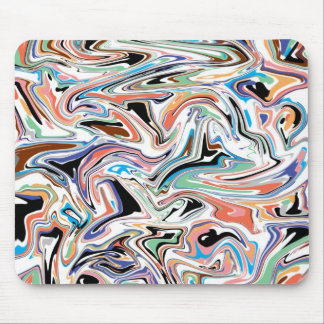 Random Abstract Mouse Pad