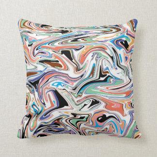Random Abstract Throw Pillow