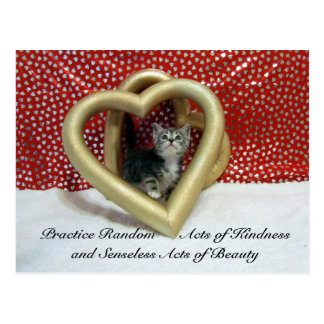 Random Act of Kindess Postcard - Love Leilo