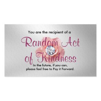 Random Act of Kindness Cards Pack Of Standard Business Cards
