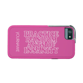 Random Acts of Insanity custom cases Cover For iPhone 5