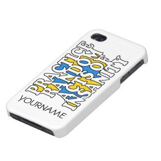 Random Acts of Insanity custom cases Case For iPhone 4
