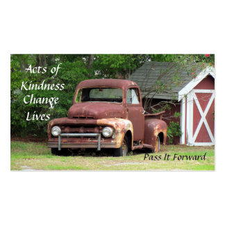 Random Acts of Kindness Cards - The Truck Pack Of Standard Business Cards