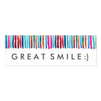 Random Acts of Kindness Great Smile Card Business Cards