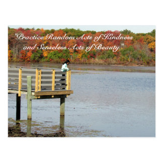 Random Acts of Kindness Postcard- Autumn Thoughts Postcard