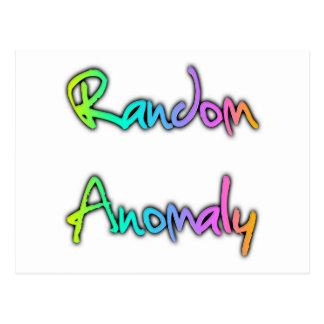 Random Anomaly Rainbow Postcard