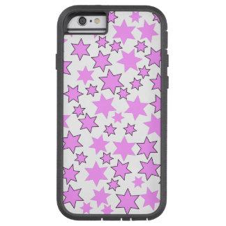 Random Bright Pink Stars Tough Xtreme iPhone 6 Case