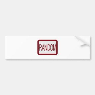 Random Bumper Sticker