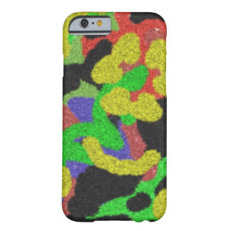 Random chaotic pattern barely there iPhone 6 case