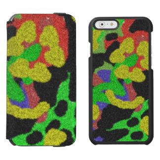 Random chaotic pattern incipio watson™ iPhone 6 wallet case