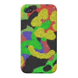 Random chaotic pattern cases for iPhone 4