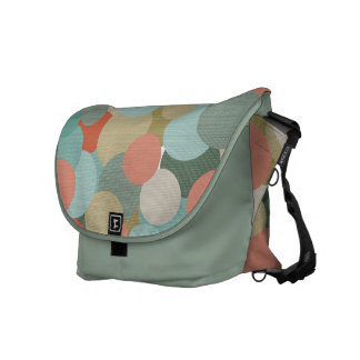 Random Circles Messenger Bag