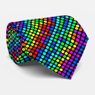 Random Colored Polka Dot Pattern Tie