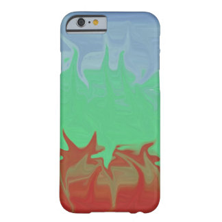 Random colorful pattern barely there iPhone 6 case