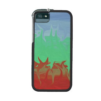Random colorful pattern cover for iPhone 5/5S