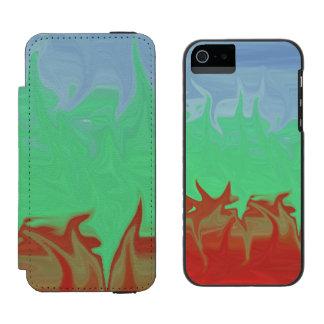 Random colorful pattern incipio watson™ iPhone 5 wallet case