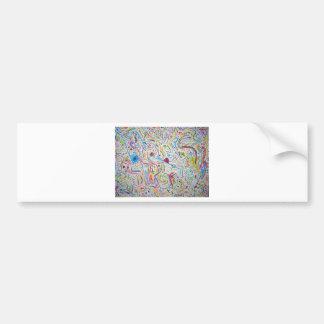 random colors bumper stickers