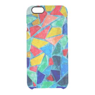 Random Colors & Shapes Mosaic Pattern