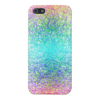 Random colour and lines iPhone 5/5S case