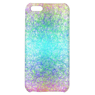 Random colour and lines iPhone 5C cover