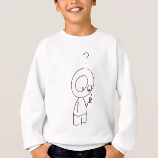 Random Curiosity Cartoon Sweatshirt