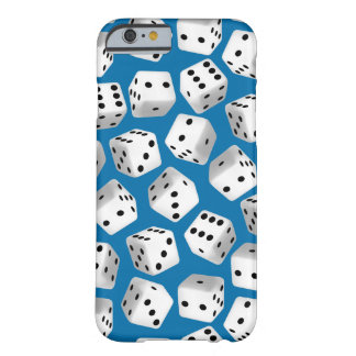 Random dice barely there iPhone 6 case