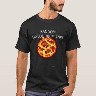 random exploding planet tee