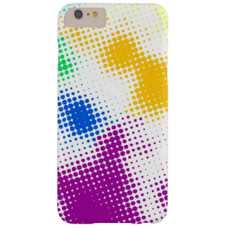 Random halftone colorful background barely there iPhone 6 plus case