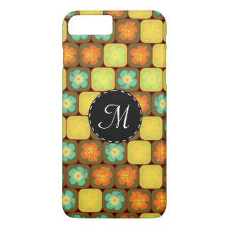 Random hibiscus pattern iPhone 7 plus case