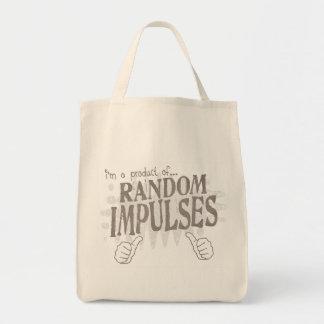 random impulses tote bags
