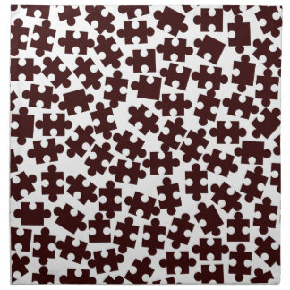 Random Jigsaw Pieces Napkin