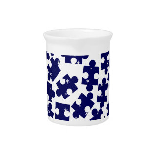 Random Jigsaw Pieces Pitcher