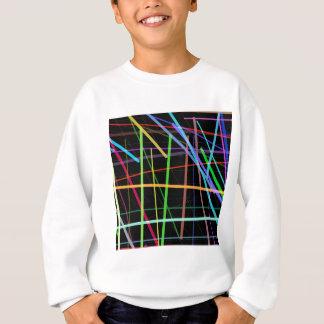 Random Lines 90's Retro Neon Sweatshirt