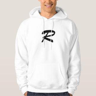 random logo hoodie