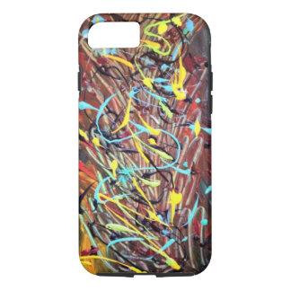Random multicolour design iPhone 7 case
