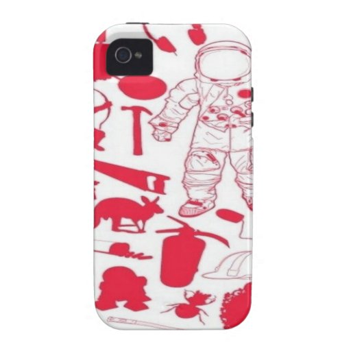 Random objects design vibe iPhone 4 cases