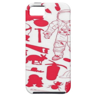 Random objects design iPhone 5/5S case