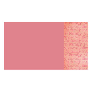 RANDOM OVERVIEW FAMILY QUOTES SAYINGS EXPRESSIONS PACK OF STANDARD BUSINESS CARDS