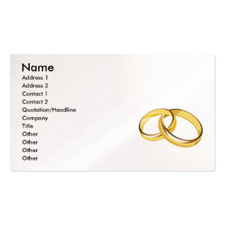 RANDOM OVERVIEW WEDDING ENGAGEMENT RING ANNIVERSAR PACK OF STANDARD BUSINESS CARDS