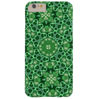 random pattern 2 green.jpg barely there iPhone 6 plus case