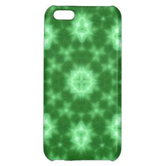 random pattern  green iPhone 5C cases