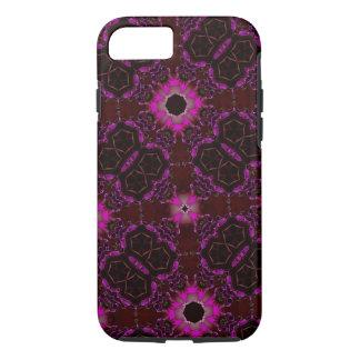 random pattern pink purple iPhone 7 case