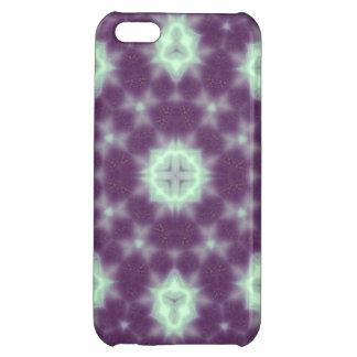 random pattern  purple blue iPhone 5C cover