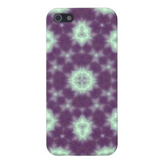 random pattern  purple blue cases for iPhone 5