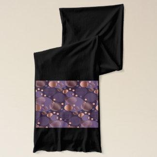 Random polka dots, fun, colorful, pattern,xmas,hap scarf