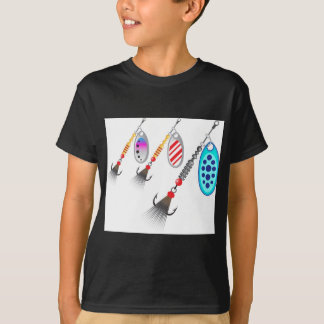 Random set of spinners different colors vector T-Shirt