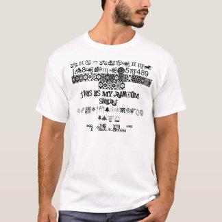 random shirt